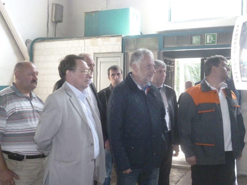 На ГП «УК» Краснолиманская» провели для Павла Жебривского наземную экскурсию по предприятию (фото) - фото 6