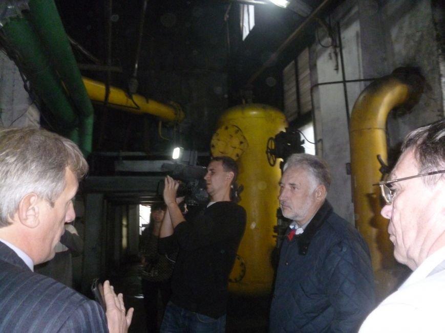 На ГП «УК» Краснолиманская» провели для Павла Жебривского наземную экскурсию по предприятию (фото) - фото 5