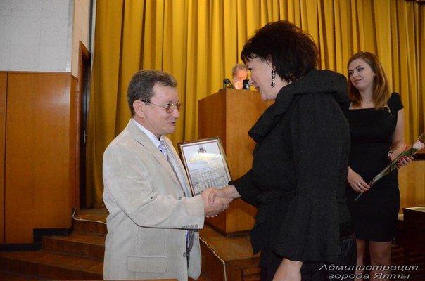 Отличившихся ялтинцев чествовали за вклад в культурное и социально-экномическое развитие города и неравнодушие сердец (фото) - фото 2