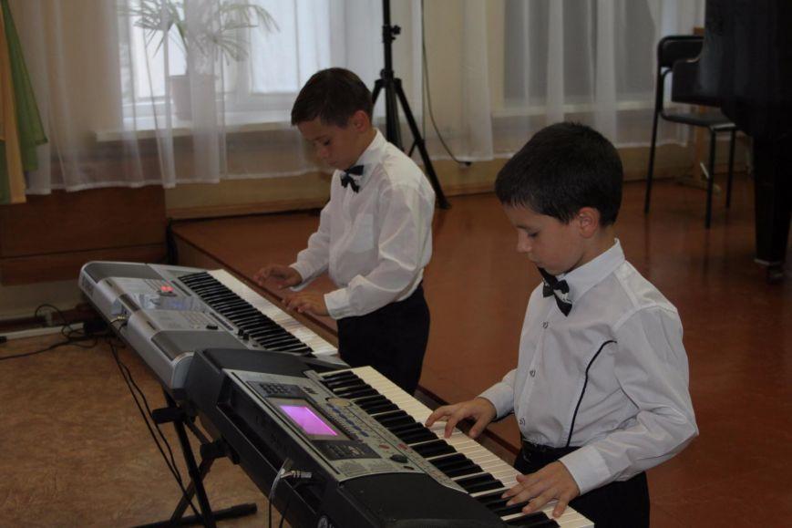 Праздник первоклассника в Школе искусств Артемовска-Бахмута (фото) - фото 2