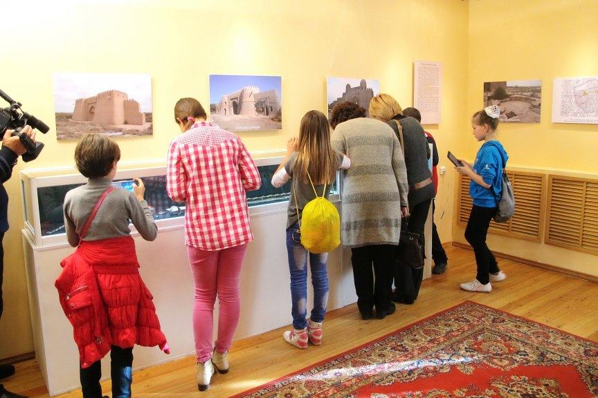 На выставке «Туркестан – столица Казахского ханства»