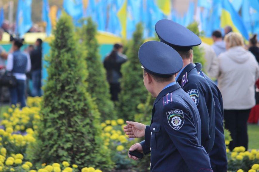 Днепропетровский митинг возле облсовета: обещанные шины не жгли, фото-3