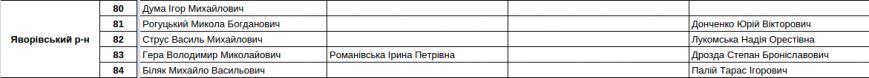 Зареєстровані кандидати в депутати Львівської облради. Повний список (фото) - фото 20