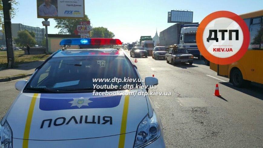 В Киеве на Кольцевой водитель Honda насмерть сбил пешехода (ФОТО), фото-1