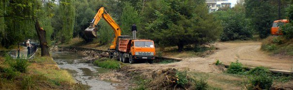 В Симферополе начали чистить русло Салгира (ФОТОФАКТ) (фото) - фото 2