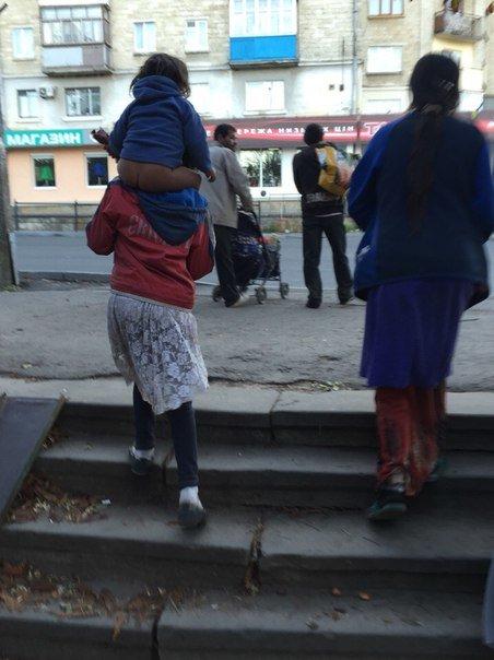 У Тернополі кількість циган з кожним днем збільшується(фото) (фото) - фото 1