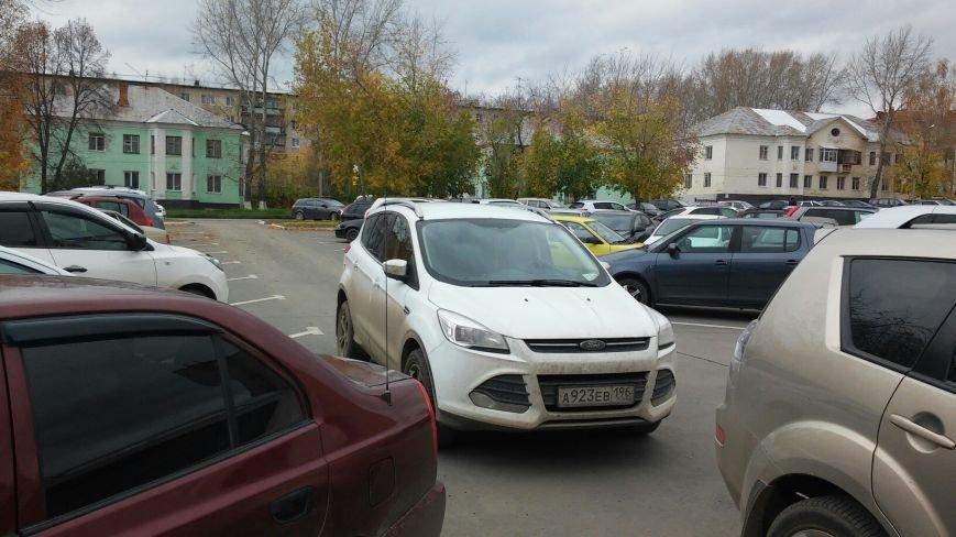 Полевские водители паркуются как хотят (фото) - фото 3