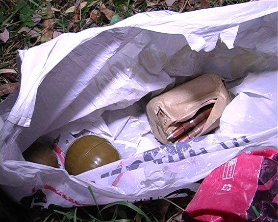В Сумах СБУ разоблачила тайник с гранатами и патронами (ФОТО) (фото) - фото 2