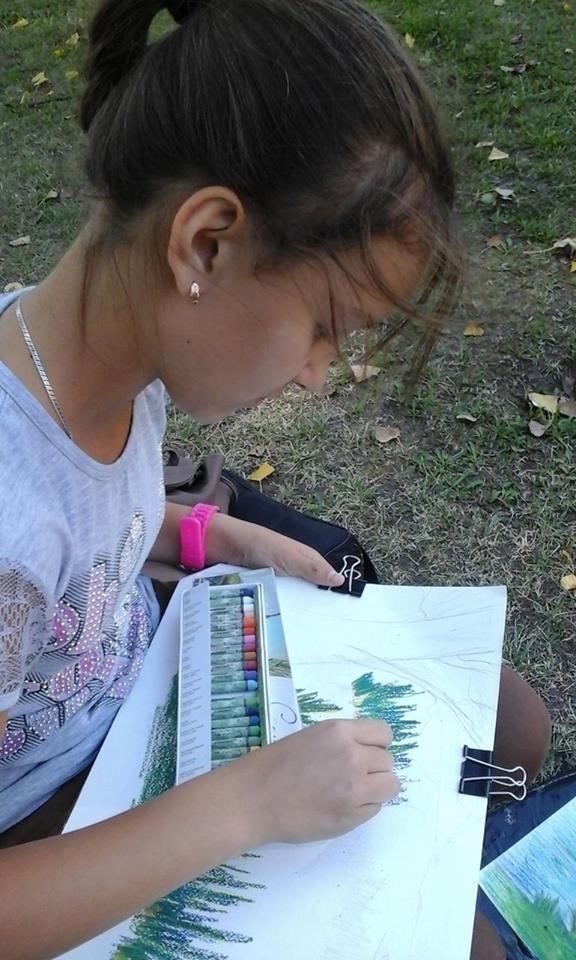 В Сумах в парке «Сказка» состоялся городской конкурс «Мой родной город», фото-1