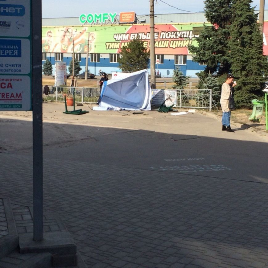 В Харькове неизвестные в балаклавах избили агитаторов партии «Вiдродження» (ФОТО) (фото) - фото 1