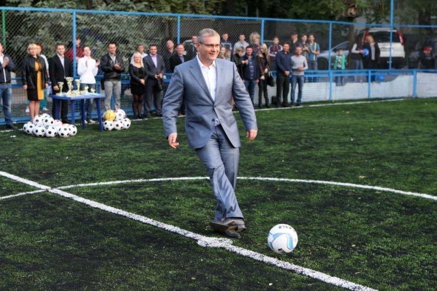 Мы сделаем так, чтобы каждый, кто хочет заниматься спортом, имел такую возможность, - Вилкул (ФОТО) (фото) - фото 1