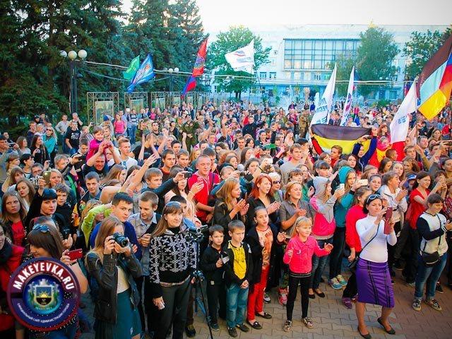 В Макеевке выступил Глеб Корнилов и группа «Опасные» (фото) - фото 1