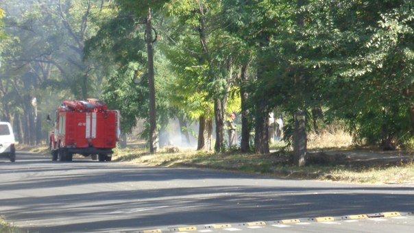 Пожар у базы Нацгвардии в Мариуполе встревожил  местных жителей (ФОТОФАКТ), фото-4