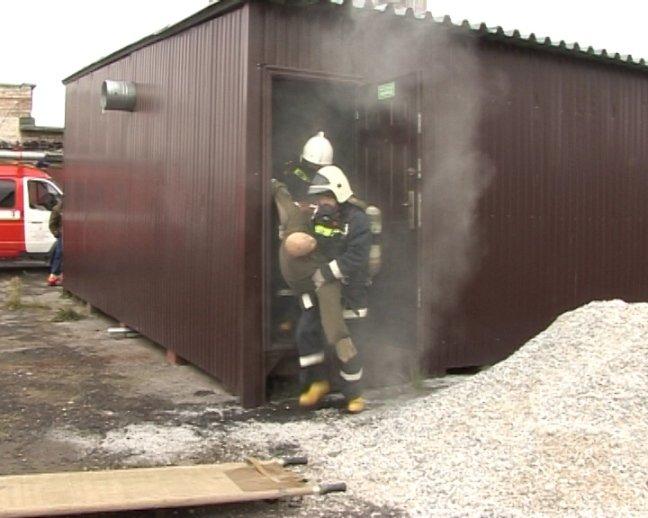 Назван лучший боевой караул пожаро-спасательной службы градообразующего предприятия (фото) - фото 1