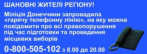 В Донецкой области поступило 7 обращений о нарушении избирательного процесса (фото) - фото 1