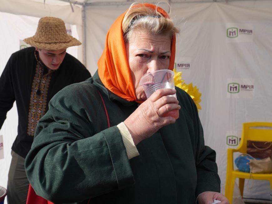 """Агрохолдинг """"МРІЯ"""" безкоштовно частував тернополян на сільськогосподарському ярмарку (ФОТОРЕПОРТАЖ) (фото) - фото 2"""