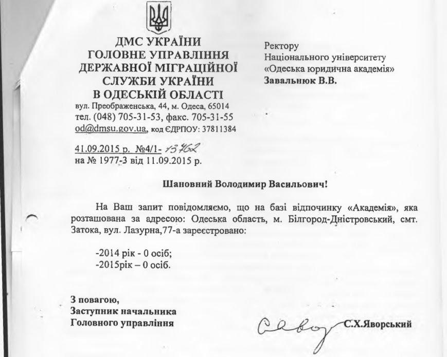 Сергей Кивалов: «Сенсации» с пропиской студентов в Затоке – больше двух лет (фото) - фото 1