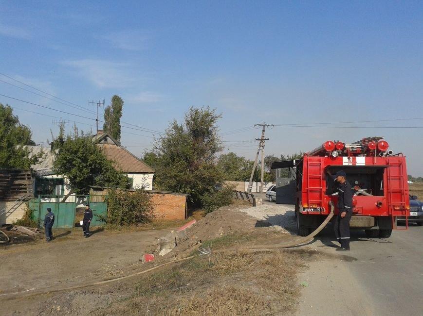 На ул. Дзержинского загорелось частное домовладение (ФОТО), фото-3