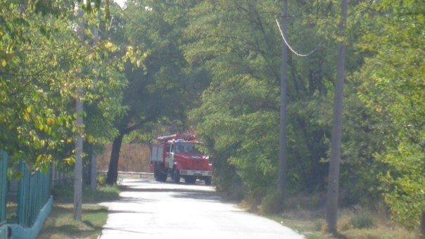 В Мариуполе пожарные расчеты противостояли поджигателям (ФОТОФАКТ) (фото) - фото 2
