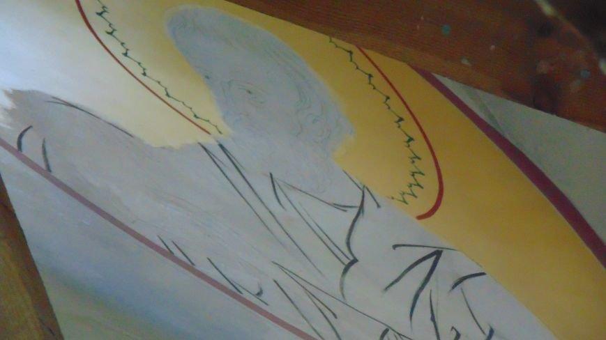 В Мариуполе завершаются работы по росписи Свято-Николаевского храма (ФОТОФАКТ) (фото) - фото 1