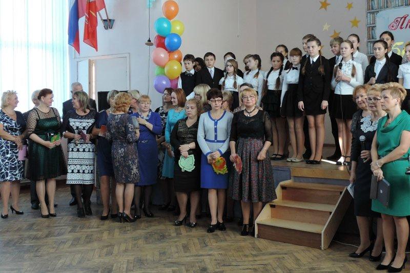 530 школа города Пушкина отметила свой юбилей (фото) - фото 1