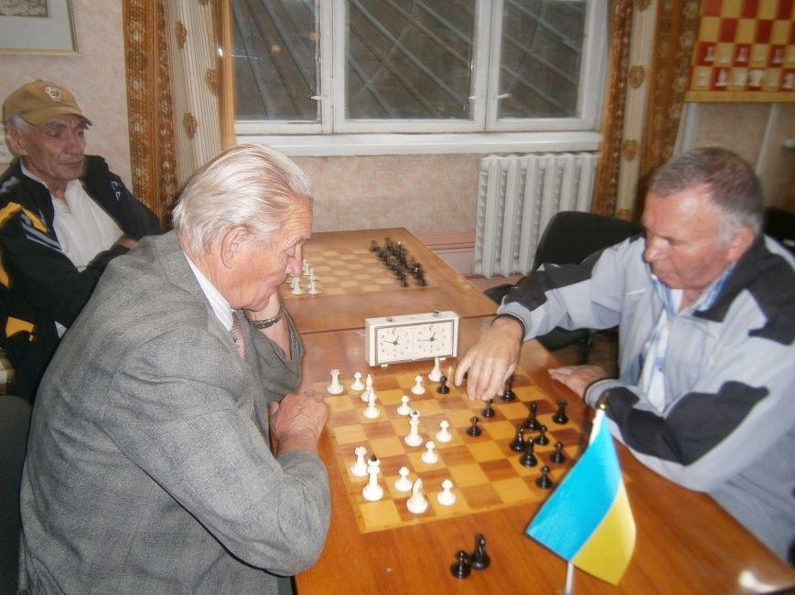 Ветераны в Краматорске сразились на шахматном поле (фото) - фото 1