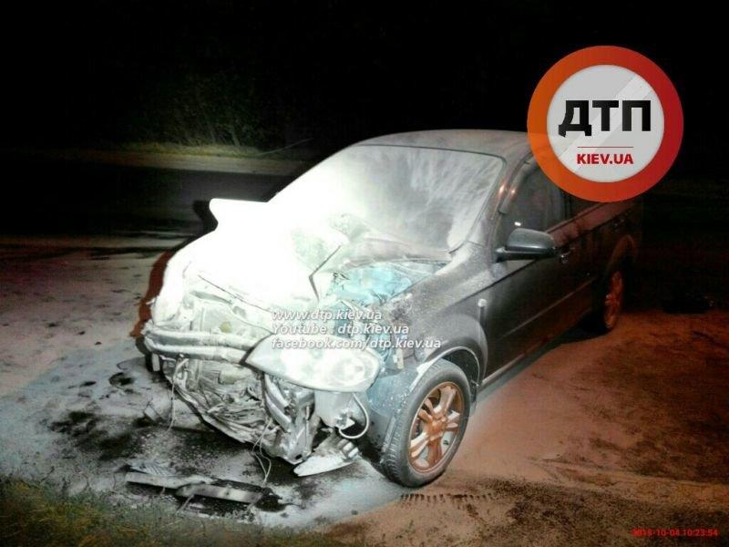 На Броварском в результате ДТП загорелся автомобиль (ФОТО), фото-4