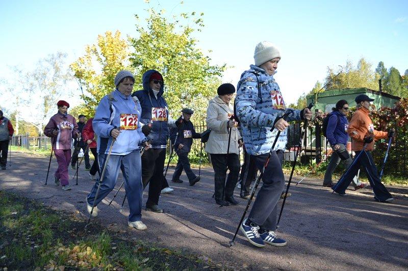 Энергично провели Всероссийский день ходьбы в городе Пушкине (фото) - фото 6
