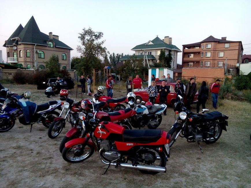 В Бердянске байкеры и «азовцы» закрыли мотосезон (фото) - фото 5