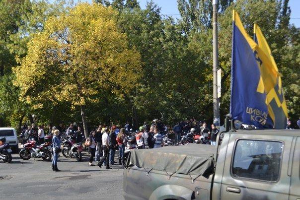 В Бердянске байкеры и «азовцы» закрыли мотосезон (фото) - фото 4