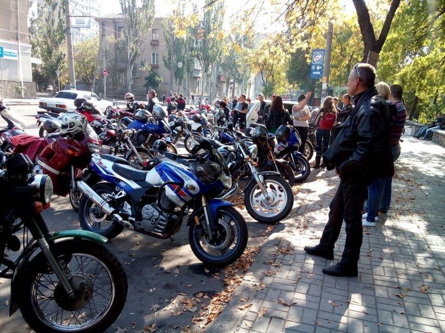 В Бердянске байкеры и «азовцы» закрыли мотосезон (фото) - фото 3