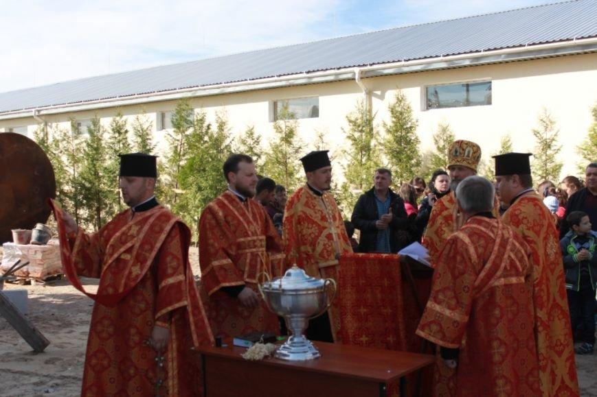 У Житомирі освячено хрест на купол новозбудованого Свято-Георгіївського храму, фото-1