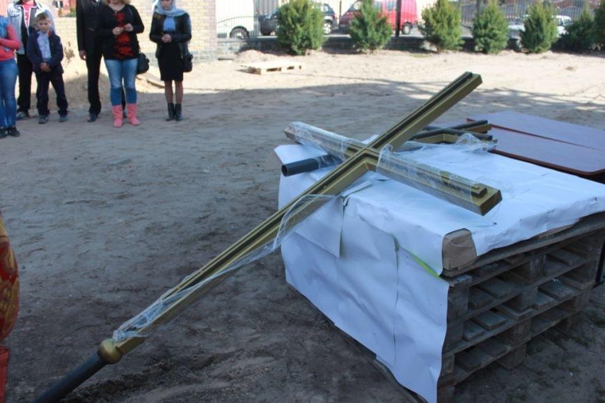 У Житомирі освячено хрест на купол новозбудованого Свято-Георгіївського храму, фото-2