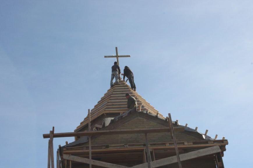 У Житомирі освячено хрест на купол новозбудованого Свято-Георгіївського храму, фото-4