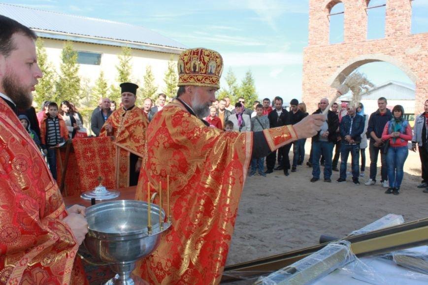 У Житомирі освячено хрест на купол новозбудованого Свято-Георгіївського храму, фото-3