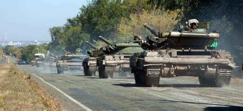 Как выводили танки «ЛНР» из Луганска (ФОТОРЕПОРТАЖ) (фото) - фото 5