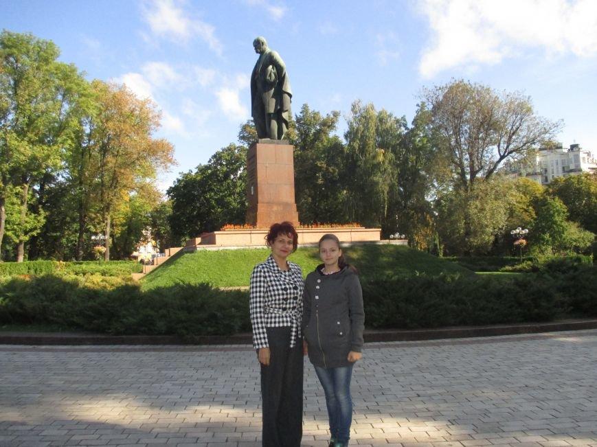 Ученица Белицкой школы стала призером Всеукраинского литературного конкурса в Киеве, фото-1