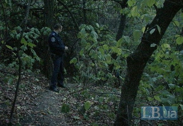 Возле Пейзажки нашли повешенный труп (ФОТО) (фото) - фото 2