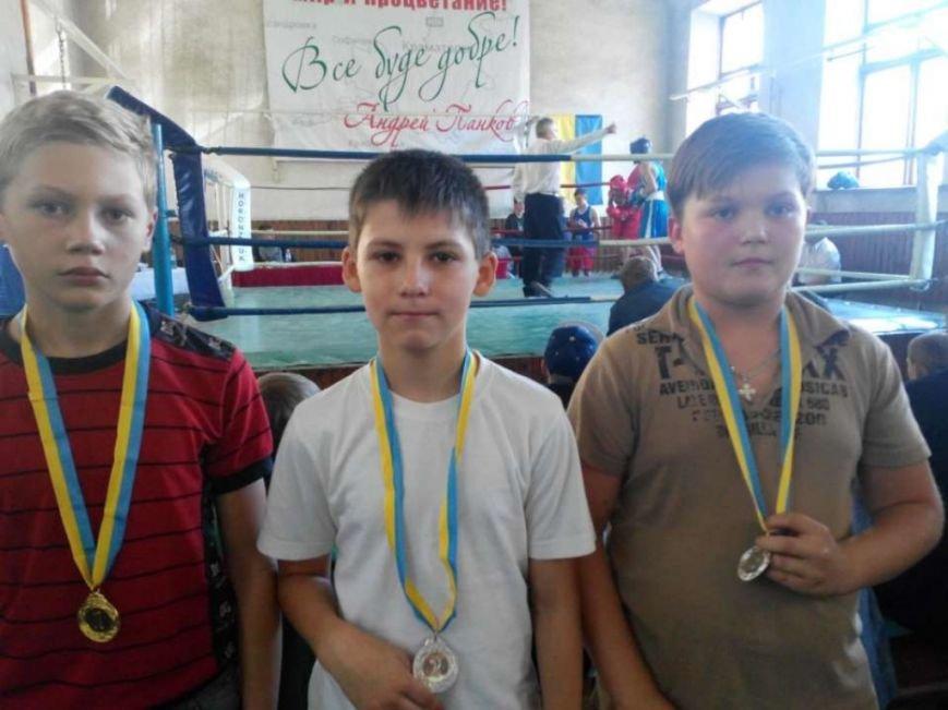 Боксеры Доброполья показали хорошие результаты на Открытом Чемпионате по боксу, фото-1