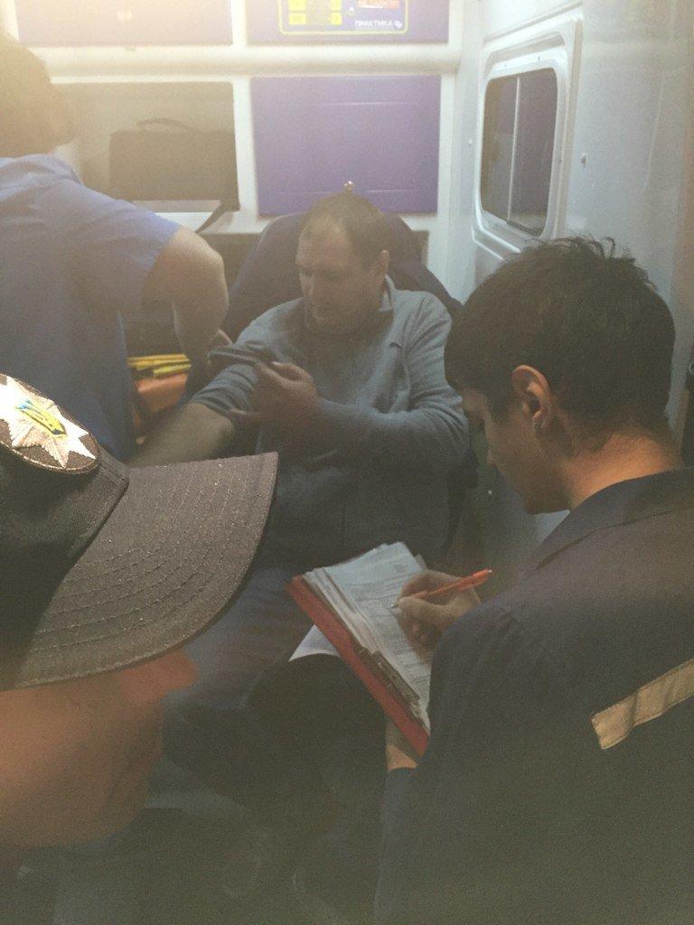 Харьковская патрульная полиция задержала пьяного «мента»: милиция проводит проверку по факту ДТП с участием правоохранителя (ФОТО) (фото) - фото 1