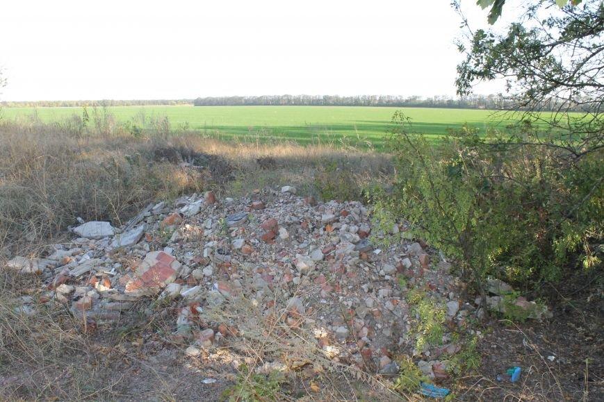 Несанкционированная свалка за городом Белицкое (ФОТО), фото-4