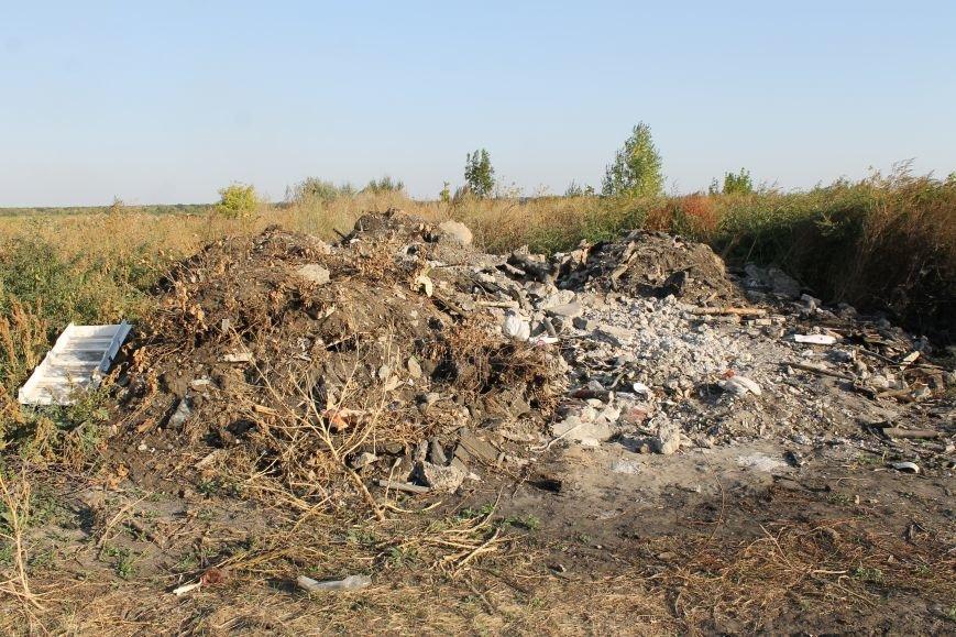 Несанкционированная свалка за городом Белицкое (ФОТО), фото-21