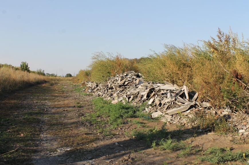 Несанкционированная свалка за городом Белицкое (ФОТО), фото-17