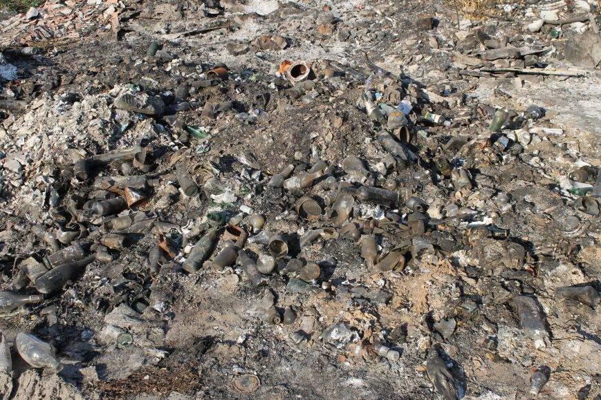 Несанкционированная свалка за городом Белицкое (ФОТО), фото-11