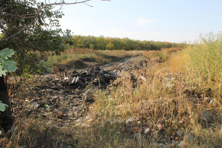 Несанкционированная свалка за городом Белицкое (ФОТО), фото-5
