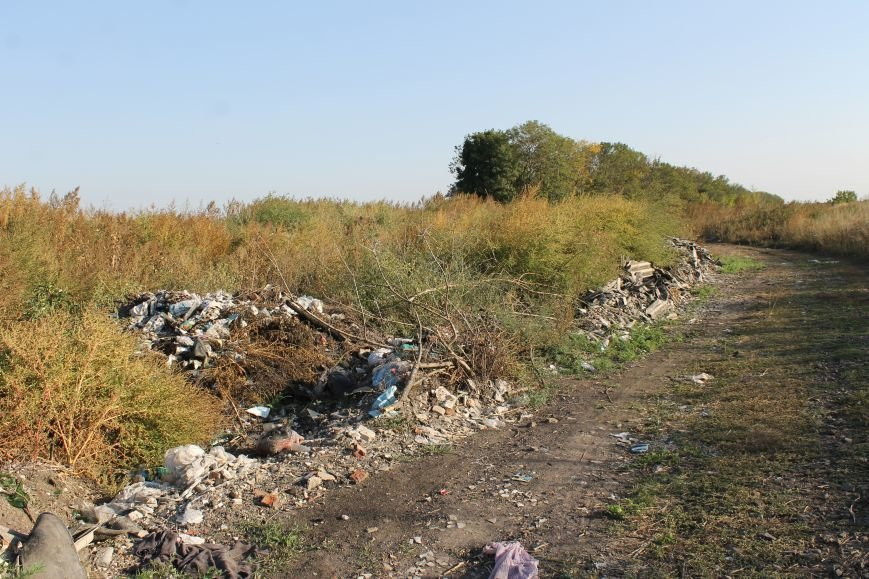 Несанкционированная свалка за городом Белицкое (ФОТО), фото-18