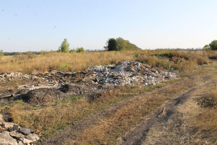 Несанкционированная свалка за городом Белицкое (ФОТО), фото-22