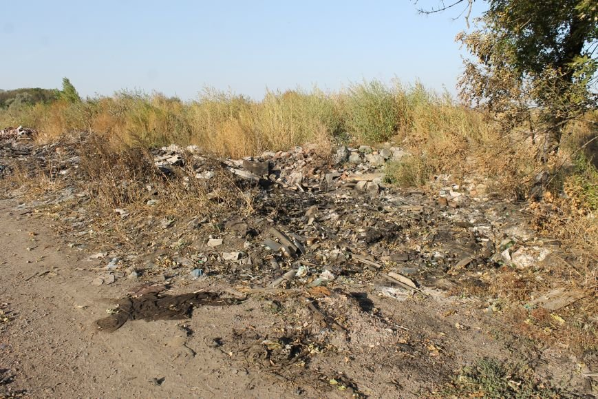 Несанкционированная свалка за городом Белицкое (ФОТО), фото-2