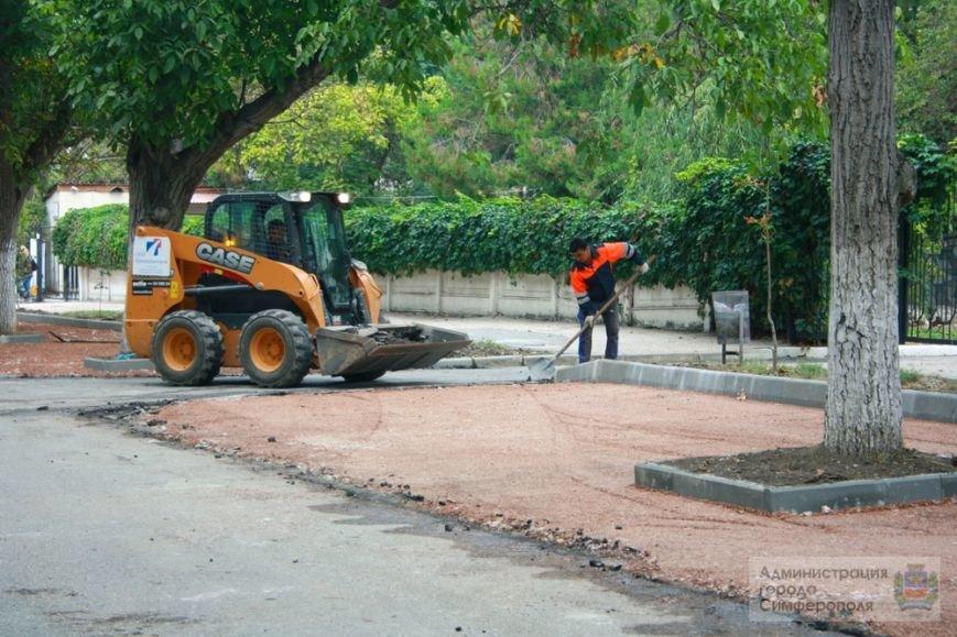 В Симферополе строят еще одну парковку — возле 6-й горбольницы (ФОТО) (фото) - фото 2