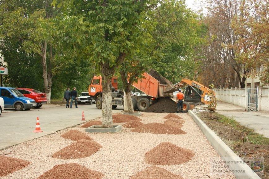 В Симферополе строят еще одну парковку — возле 6-й горбольницы (ФОТО) (фото) - фото 4